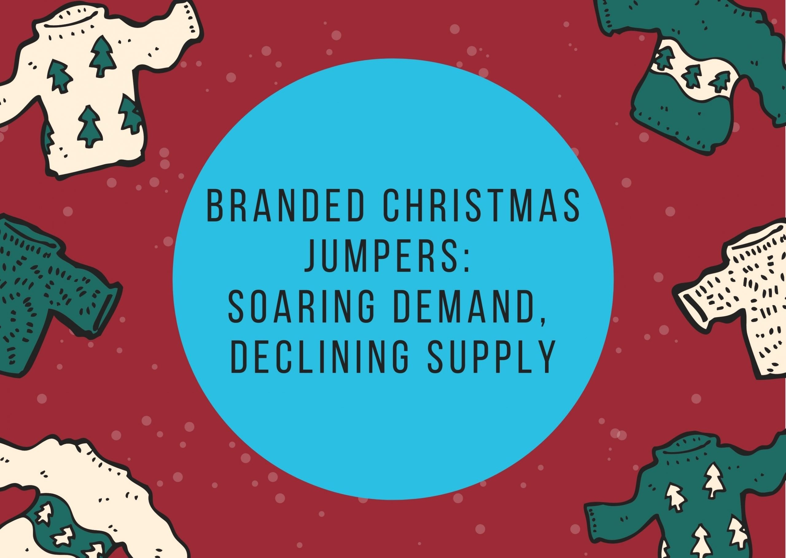 Branded Christmas jumpers header image